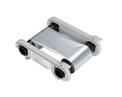 Metallic Silver Ribbon Cartridge