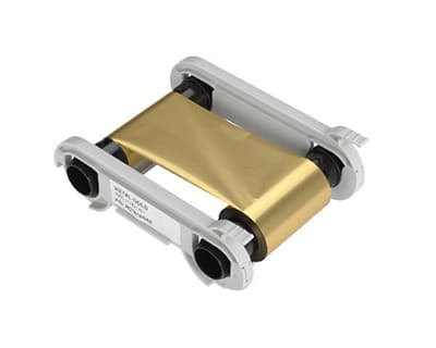 Metallic Gold Ribbon Cartridge