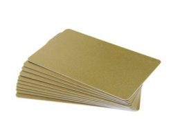 Select Gold PVC Cards