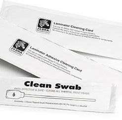 Zebra ZC100/300 Cleaning Kit – 5000 Printed cards Zebra Cleaning Kit
