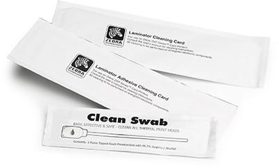 Zebra ZC100/300 Cleaning Kit – 5000 Printed cards Zebra Cleaning Kit