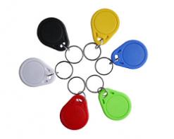 PVC Key ring fobs