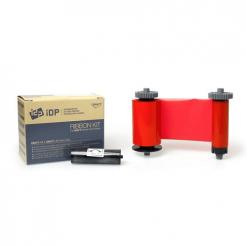 IDP Smart Red Monochrome Ribbon (1200 Prints)