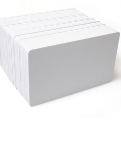 Dyestar Blank White Plastic Cards (Pack of 100)