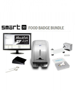 Smart 30 Food Badge Printer Bundle
